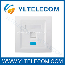 Wall Face Plates RJ45 Module Single Port 1 Port 86*86MM 86 Type